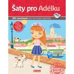 Šaty pro Adélku - 300 samolepek pro tvé české panenky