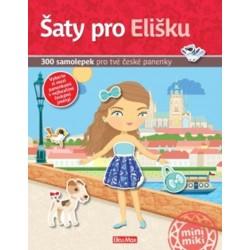 Šaty pro Elišku - 300 samolepek pro tvé české panenky