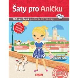 Šaty pro Aničku - 300 samolepek pro tvé české panenky