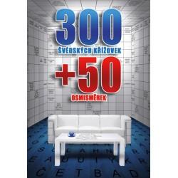 300 švédských křížovek + 50 osmisměrek