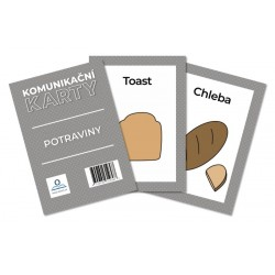 Komunikační karty PAS - Potraviny