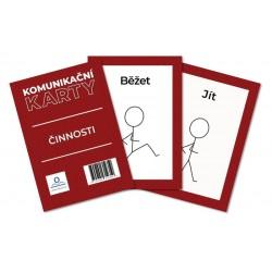 Komunikační karty PAS - Činnosti