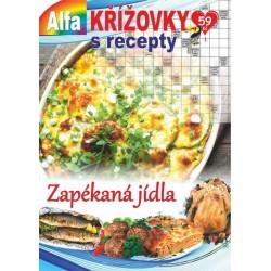 Křížovky s recepty 1/2021 - Zapékaná jídla