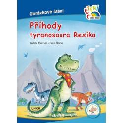 Příhody tyranosaura Rexíka - Obrázkové čtení