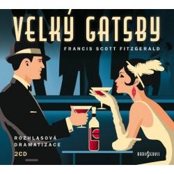 Velký Gatsby - 2 CDmp3