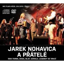 Jaromír Nohavica a přátelé 2CD+ DVD