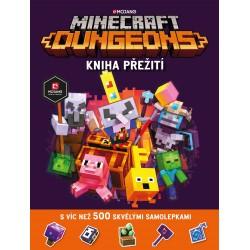 Minecraft Dungeons - Kniha přežití se samolepkami