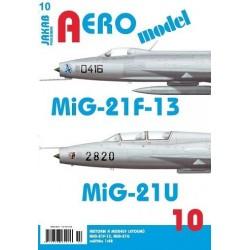 AEROmodel 10 - MiG-21F-13/MiG-21U