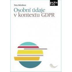 Osobní údaje v kontextu GDPR