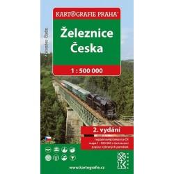 Železnice Česka 1 : 500 000