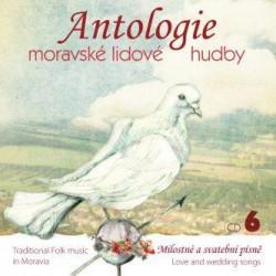 Antologie moravské lidové hudby 6 - CD