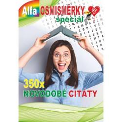 Osmisměrky speciál 1/2021 - Novodobé citáty