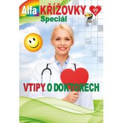 Křížovky speciál 1/2021 - Vtipy o doktorech