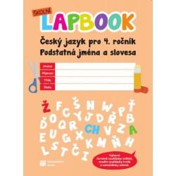Školní lapbook: ČJ pro 4. ročník - Podstatná jména a slovesa