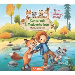 Kamarádi z Medového lesa 4 - Ty to zvládneš, Lukáš! - CDm3 (Čte Jitka Molavcová)