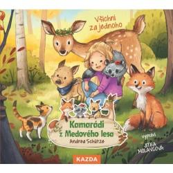 Kamarádi z Medového lesa 3 - Všichni za jednoho - CDm3 (Čte Jitka Molavcová)