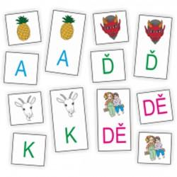 Obrázková abeceda - didaktická pomůcka k výuce abecedy