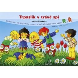 Trpaslík v trávě spí - Soubor vět s obrázky k nacvičování a upevňování výslovnosti hlásek R a Ř