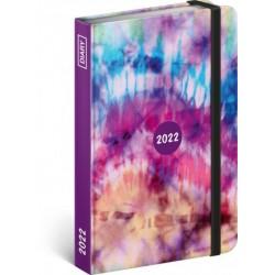 Diář 2022: Batika - týdenní, 11 x 16 cm (západní kalendárium)
