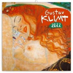 Kalendář 2022 poznámkový: Gustav Klimt, 30 × 30 cm (západní verze)