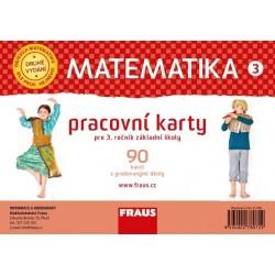 Matematika 3 pracovní karty pro 3. ročník základní školy