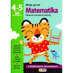 Matematika - 4-5 roky - samolepky (Moje první matematika)