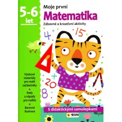 Matematika - 5-6 roky - samolepky (Moje první matematika)