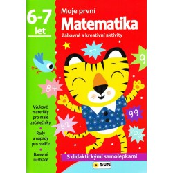 Matematika - 6-7 roky - samolepky (Moje první matematika)