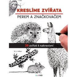 Kreslíme zvířata perem a značkovačem
