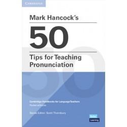 Mark Hancock´s 50 Tips for Teaching Pronunciation
