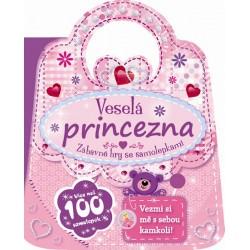 Veselá princezna - Zábavné hry se samolepkami
