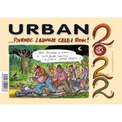 Kalendář Urban 2022 - Pivrnec lajnuje celej rok!