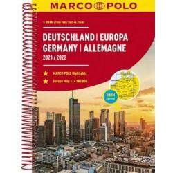 Německo, Evropa/atlas-spirála 21/22 1:3