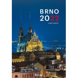 Kalendář 2022 Brno - nástěnný