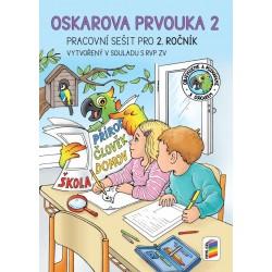 Oskarova prvouka 2 - barevný pracovní sešit