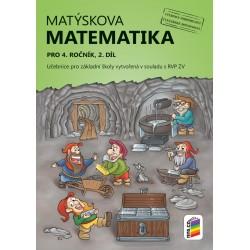 Matýskova matematika pro 4. ročník, 2. díl (učebnice)