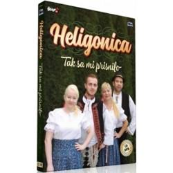 Heligonica - Tak sa mi prisnilo - CD + DVD