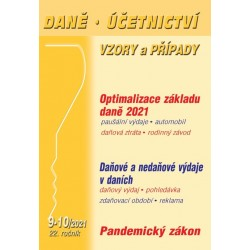 DÚVaP 9-10/2021 - Optimalizace základu daně 2021, Daňové a nedaňové výdaje v daních, Pandemický zákon