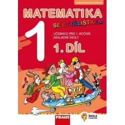 Matematika se Čtyřlístkem 1/1 pro ZŠ - Hybridní učebnice