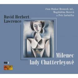 Milenec lady Chatterleyové - CDmp3 (Čte Otakar Brousek ml., Magdalena Borová a Petr Lněnička)