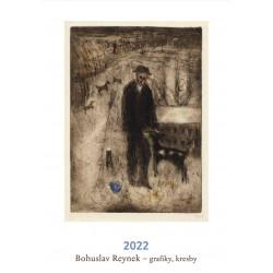 Kalendář 2022 - Bohuslav Reynek: grafiky, kresby