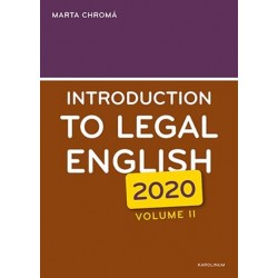 Introduction to Legal English Volume II.