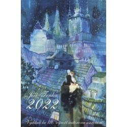 Kalendář 2022 - Jiří Trnka / nástěnný výroční