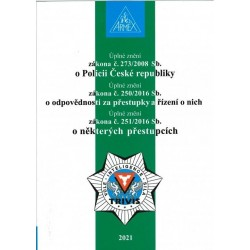 Zákon o Policii České republiky č. 273/2008 Sb. - 18. vydání