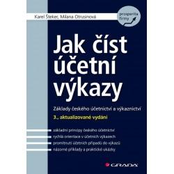 Jak číst účetní výkazy - Základy českého účetnictví a výkaznictví