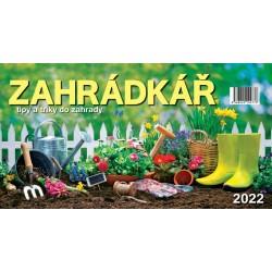 Kalendář 2022 - Zahradkář, stolní