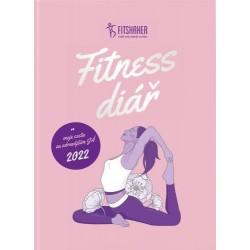 Fitness diář 2022 - Moje cesta za zdravějším JÁ