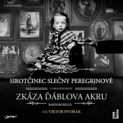 Sirotčinec slečny Peregrinové: Zkáza Ďáblova akru - 2 CDmp3 (Čte Viktor Dvořák)