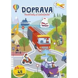 Doprava - Cvičebnice A4+