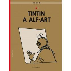 Tintin (24) - Tintin a alf-art